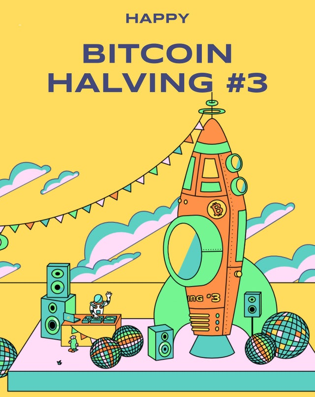 The third Bitcoin Halving complete.
